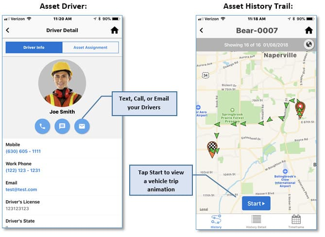 Asset Driver Native App